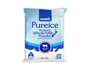 Goldmax Pureice Instant Whole Milk Powder with Phosphatidylserine 1KG